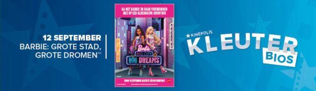 Barbie Kinepolis Kleuterbios