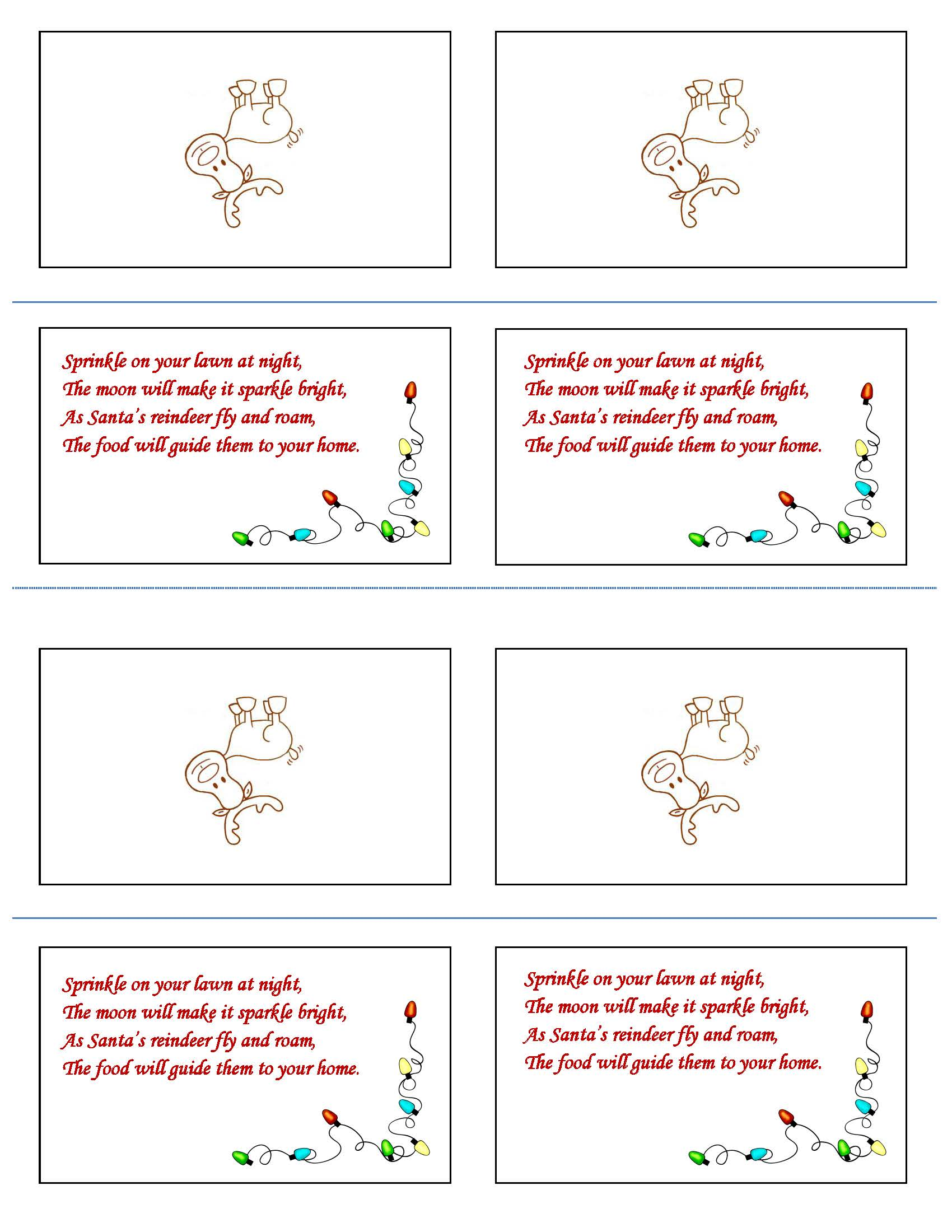 photo about Reindeer Food Printable known as Reindeer Food items Recipe and Printable MLGMLG