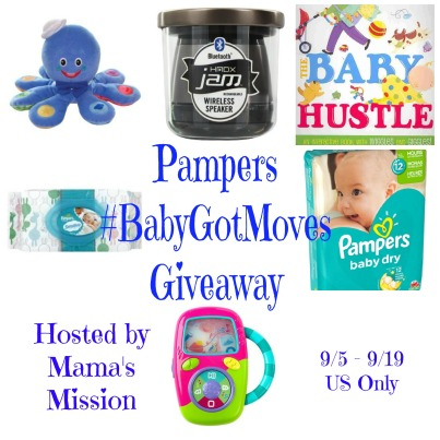 Pampers Baby Got Moves