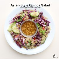 Asian-style Quinoa Salad Recipe