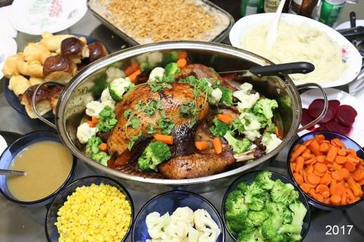 Grandma's roasted turkey 2017