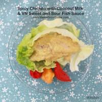 Spicy Chicken with Coconut Milk & Vietnamese Fish Sauce