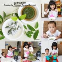 Sương Sâm - Grass Jelly Dessert Recipe