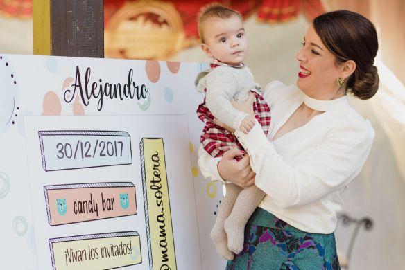 ¡Feliz primer cumpleaños Alejandro!