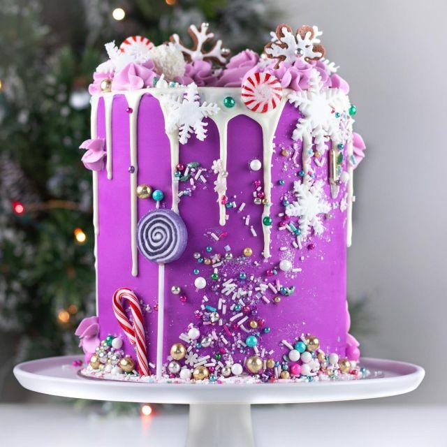 este es otro de los pasteles navideños que son una excelente opción para hacer en Navidad