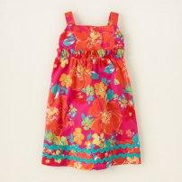 floral sundress $12.00 reg - $19.95 (The Children Place)