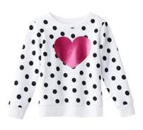 Camiseta de mangas largas para niñas - Kohls- 11 dólares