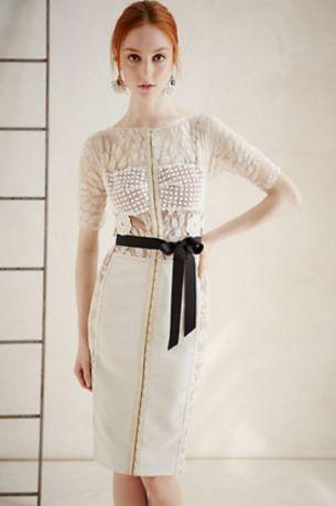 Vestido 'tubo' hecho con telas de calidad para lucir elegantes