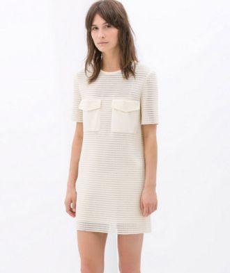 Vestido blanco Zara. 139 dólares