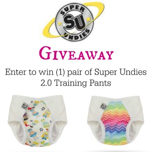 Super Undies Training Pants Giveaway