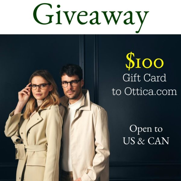 $100 Ottica.com Giveaway! 9/3
