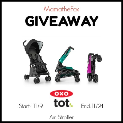 OXO Stroller Giveaway 11/24 @OXO