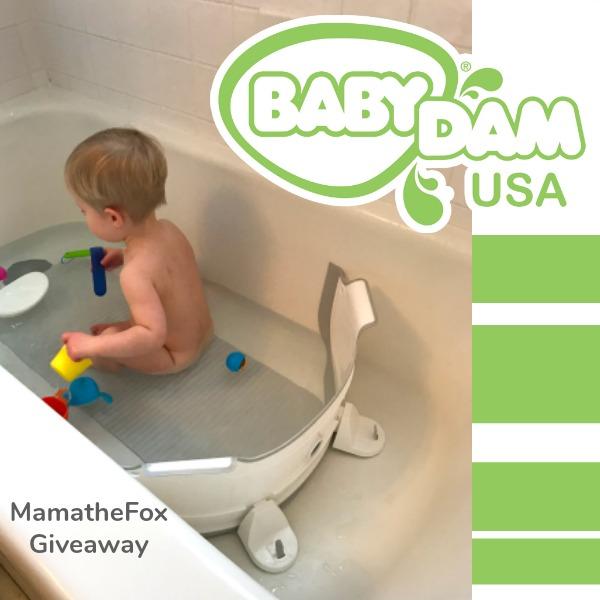 BabyDam Bathtub Divider Giveaway