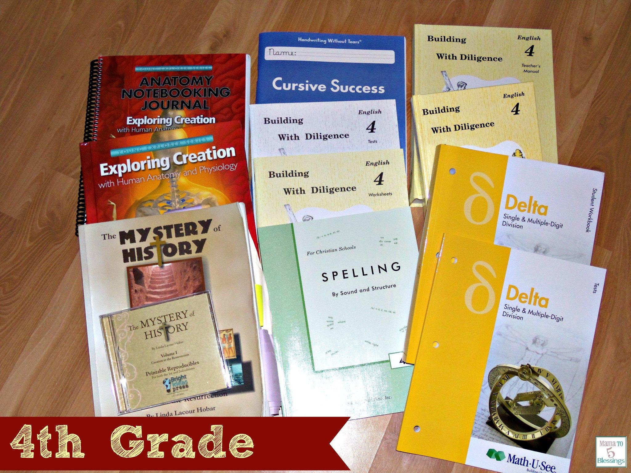 Our Homeschool Curriculum