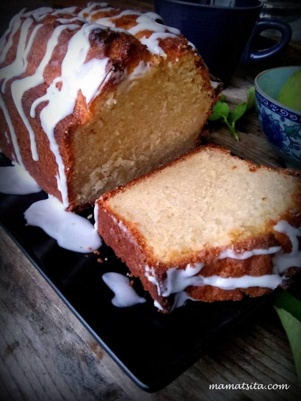 κέικ με ξινόμηλο