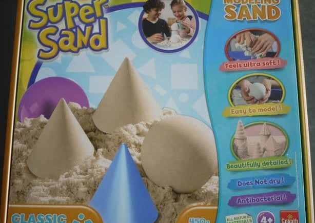 Le sable à modeler Super Sand de Goliath
