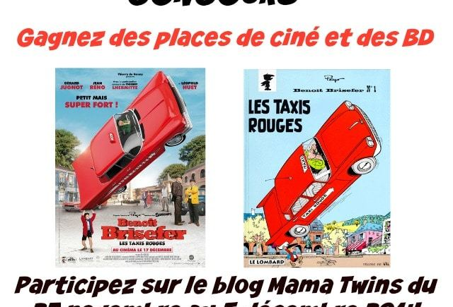 Benoît Brisefer : Les taxis rouges au cinéma !