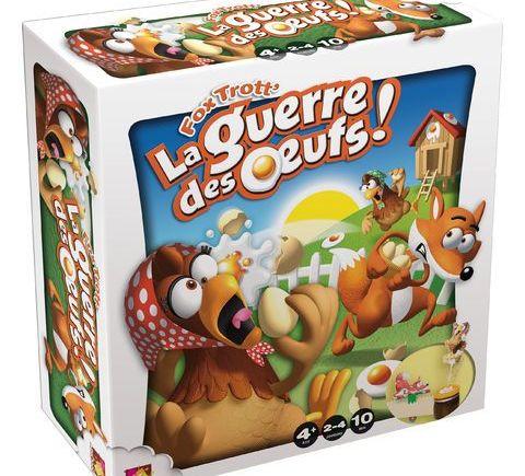 Fox Trott' La Guerre des Oeufs, un jeu hyper drôle !