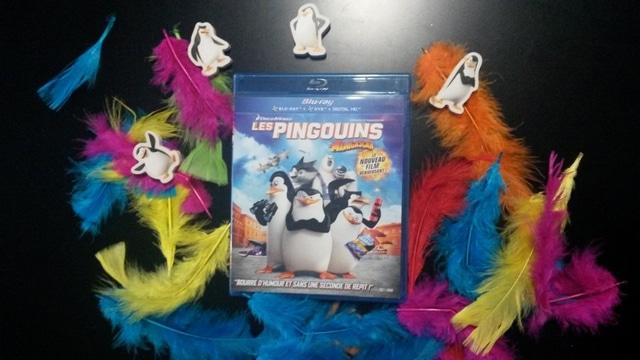 LES PINGOUINS DE MADAGASCAR en DVD, Blu-Ray, Blu-Ray 3D et VOD