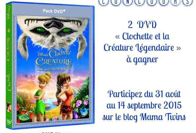DVD « Clochette et la Créature Légendaire »