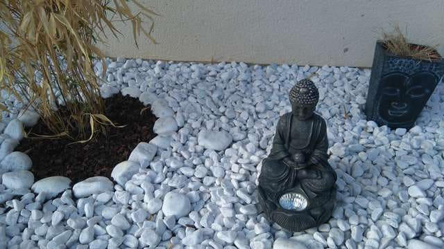 Mon jardin zen #déco