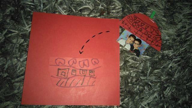 DIY carte de vœux avec photo