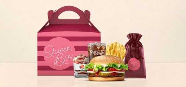BURGER KING lance la QUEEN BOX