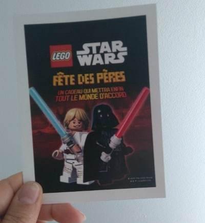 Offrir des LEGO Star Wars pour la Fête des Pères ?