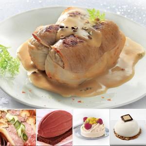 menu festif flunch traiteur