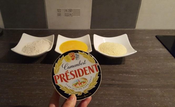 recette camembert président