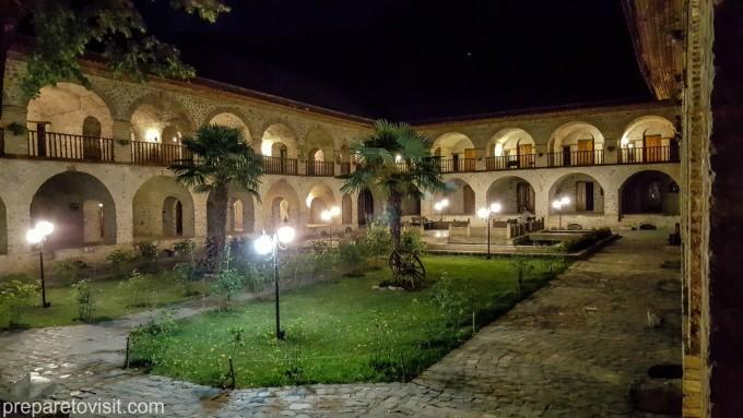 Керван Сарай, Шеки, Азербайджан