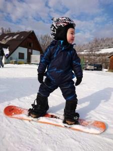 lyžovačka s deťmi