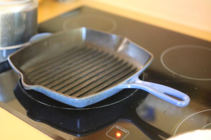 Le Creuset makes fantastic cast-iron grill pans.