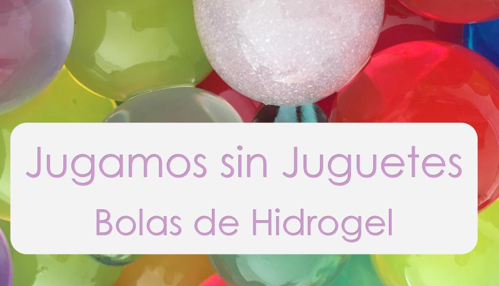Juegos con bolas de hidrogel