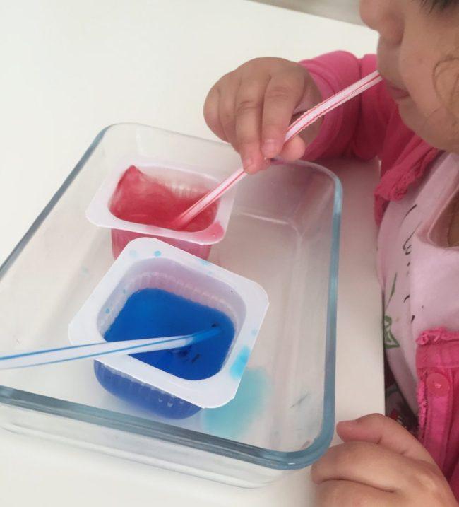 ejercicios de soplo para niños