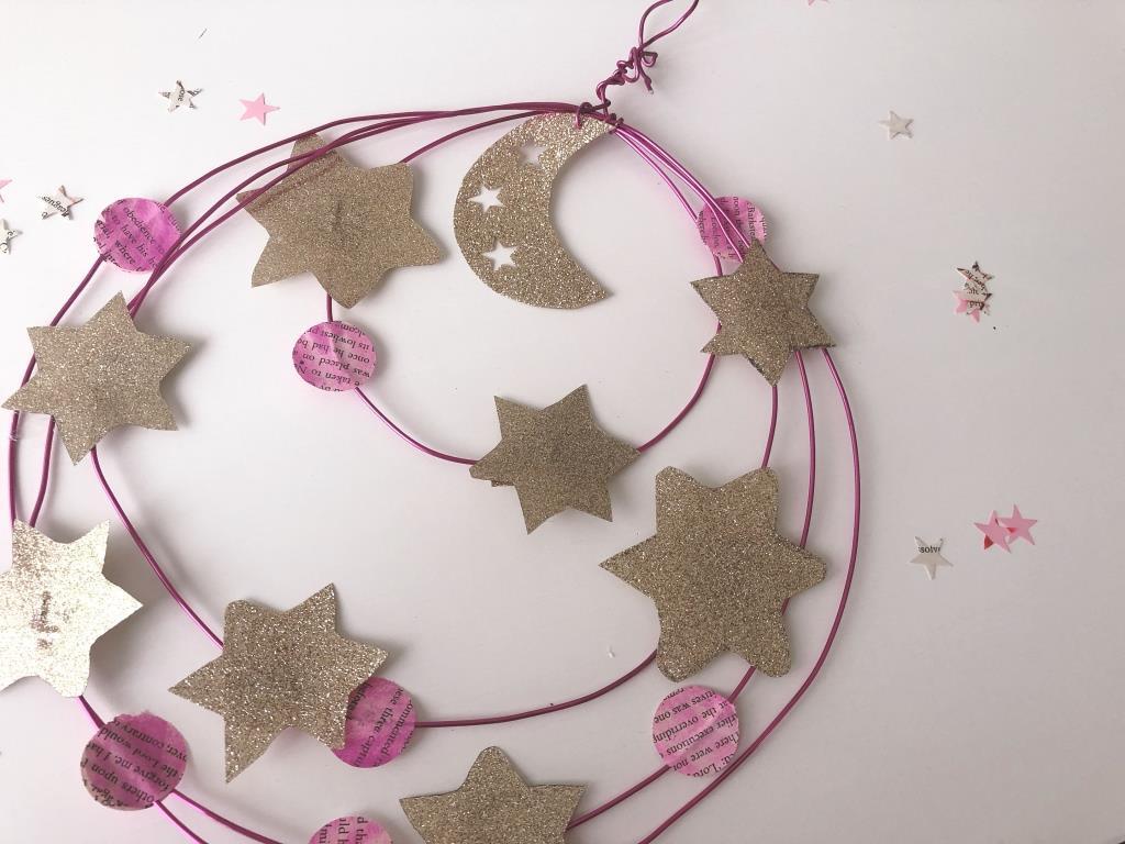 corona de alambre para navidad