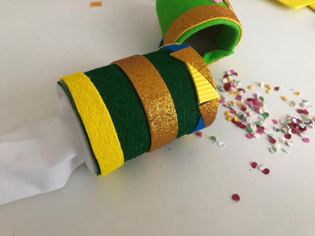 fiestas infantiles lanzadores confeti