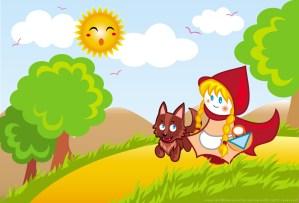 Caperucita Roja y el lobo, un final feliz