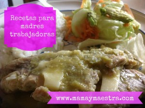 Receta para madres trabajadoras: Filete de pescado en salsa verde
