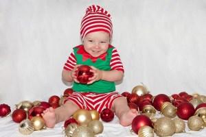 Ideas para fotos de navidad con niños