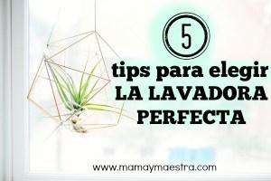5 tips para escoger la lavadora perfecta