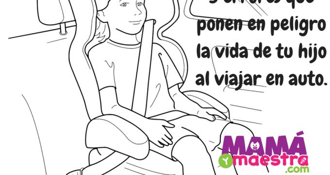 3 errores que ponen en peligro la vida de tu hijo al viajar en auto