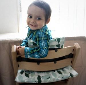 Tripp Trapp, la silla que crece con tu hijo.