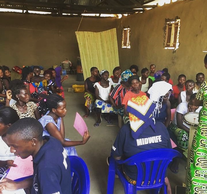 Nkondo II Outreach Clinic in action