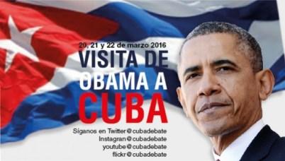 promoción de visita de obama a cuba