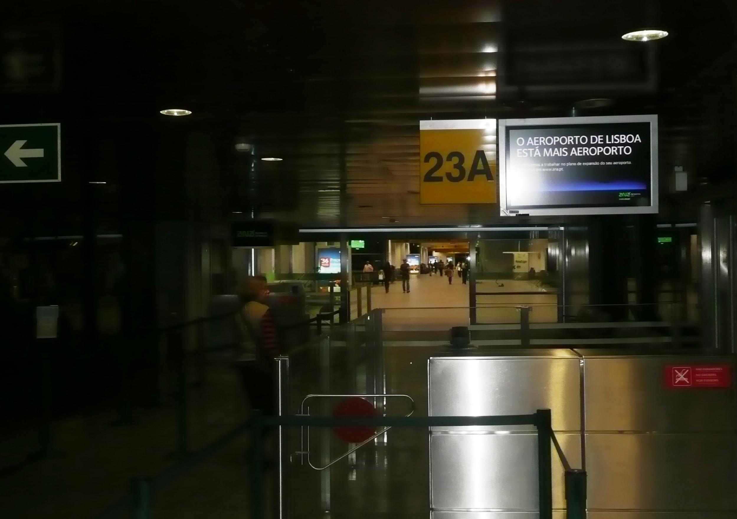 Aeroporto de Lisboa - photo by Mamcasz