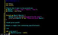 Vim for Perl developers (5/6)