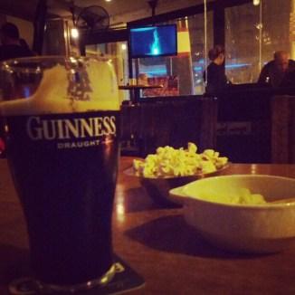 End of weekend pint