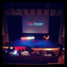 #TEDxNicosia is about to start.