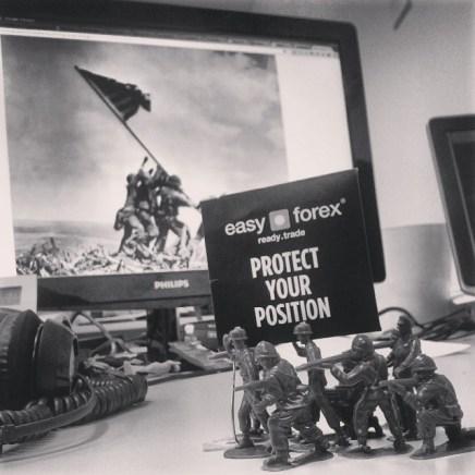 Raising the flag on Easy Forex